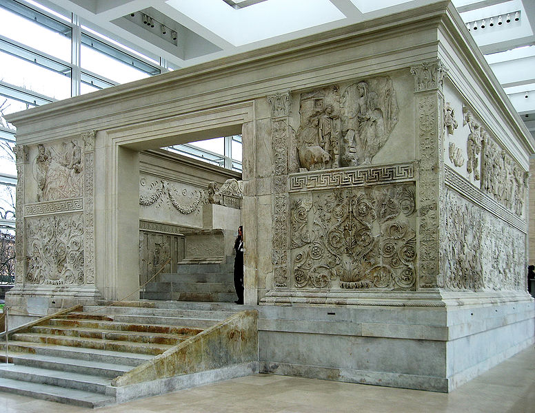 The Ara Pacis Augustae